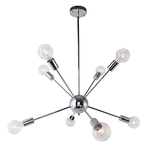 ENCOFT Sputnik Lampadario Moderno Lusso Lampada a Sospensione 8 Luci Base E27 Soggiorno Camera da...