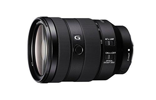 Sony SEL-24105G G Standard Zoom-Objektiv (24-105 mm, F4, OSS, Vollformat, geeignet für A7, A6000, A5100, A5000 und Nex Serien, E-Mount) schwarz