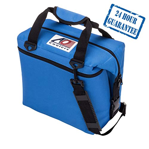 AO Coolers Original Soft Cooler with High-Density Insulation, Royal Blue, 48-Can