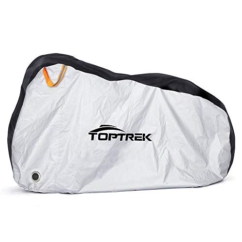 TOPTREK Bike Cover Waterproof Outdoor Storage Bicycle Cover...