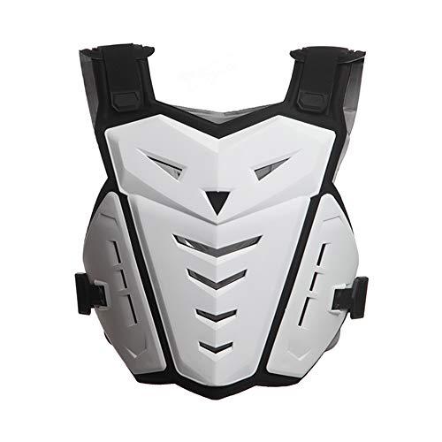 Gilet di protezione Moto equitazione Armure Racing Guard Motocross Body giacche abbigliamento protezioni per motocross, pattinaggio, sci, snowboard bianco