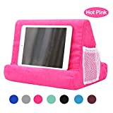 Soft Pillow for iPads, Multi-Angle Pillow Lap Stand,Tablet Computer Stand for eReaders, Smartphones, Books, Magazine