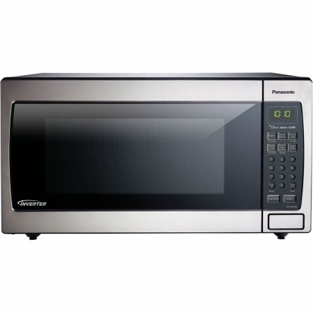 Panasonic Microwave Oven NN-SN766S Stainless Steel Countertop/Built-In with Inverter Technology and Genius Sensor, 1.6 Cubic Foot, 1250W