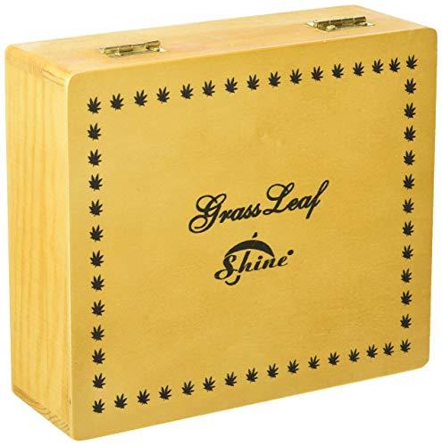 SHINE Rolling King - Caja de Madera (tamaño Grande)