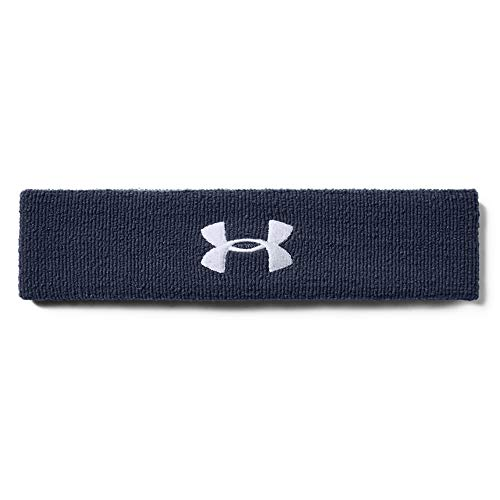 Under Armour Men's Performance Headband , Midnight Navy (410)/White , One Size Fits All