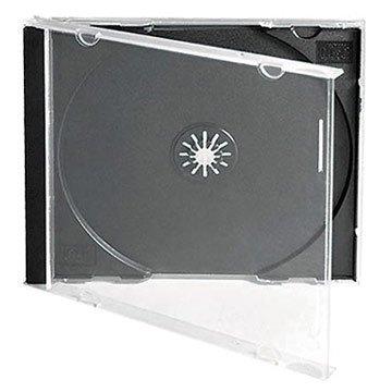 Dragon Trading, confezione di 10 custodie individuali per CD/DVD, con parte centrale della misura di 10,4 mm