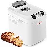 AUCMA Machine à pain avec écran LCD, 550W avec 12 programmes de...