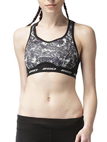 2Go Polyester Spandex Active Yoga Sports Training Gym Running Sports Bra for Women