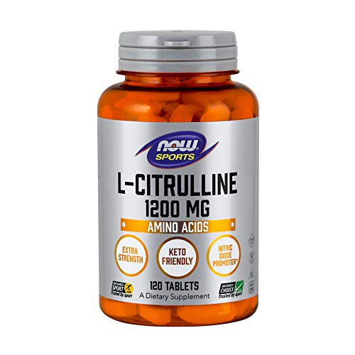 NOW® L-Citrulline, 1200 mg, 120 Tabs