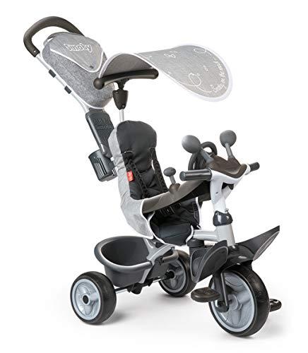 Smoby 741202 - Baby Driver Komfort Titan, grau