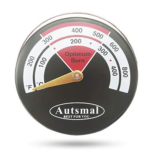 薪ストーブやピザ窯の温度管理に使う温度計0~400度まで計測出来ます.磁石が付きます.コンパクトサイズ