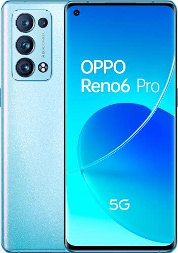 Reno 6 Pro 5G Artic Blue - AMOLED FHD+ 6,55' 90Hz, Quad-camara...