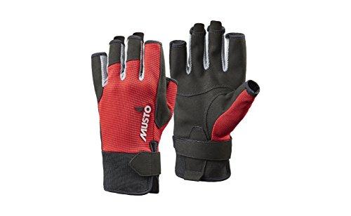 Musto Essential Short Finger Sailing Gloves - 2018 - True Red XL