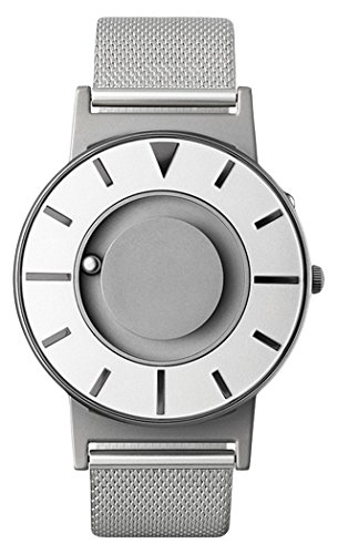 Eone Bradley Compass Iris Armbanduhr aus Stahlgeflecht