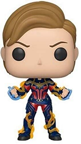 Funko- Pop Endgame-Captain Marvel w/New Hair Collectible Toy, Multicolor (45143)