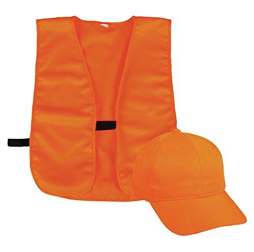 Outdoor Cap Blaze Cap and Vest, 1 Unit, Blaze Orange