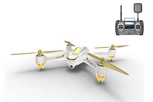 Hubsan H501S X4 PRO Brushless FPV Droni Quadricotteri GPS Fotocamera 1080P HD 5.8Ghz con Telecomando High Edition (H501S Bianco)