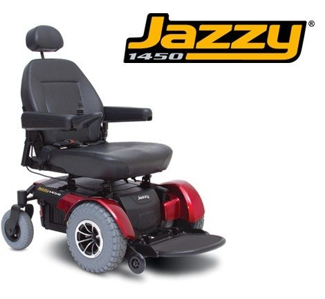 Pride Mobility JAZZY1450 Jazzy 1450 Electric Wheelchair