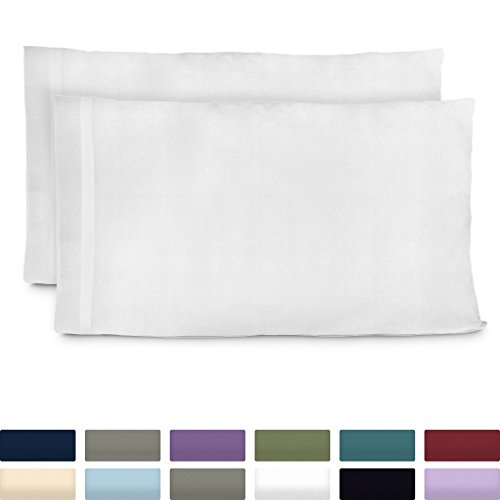 Cosy House Collection Premium Bamboo Pillowcases - Standard,...