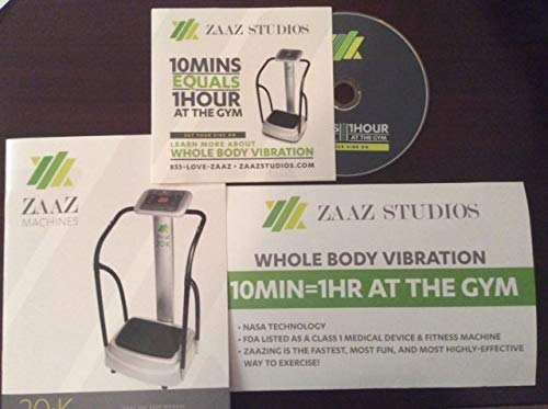 ZAAZ 20k The #1 Whole Body Vibration machine in the world The Machine That Changes Everything. 2