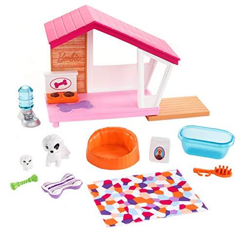 Barbie Set di Arredamenti da Interno, con Casetta Include Cuccia, Mamma con Cucciolo e Accessori a...