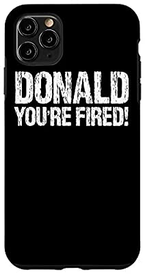 Donald Trump You Are Fired distressed design. Perfect design for everyone, who hates the former president of the United States of America Donald Trump. A funny tee to wear after Trump loses the USA 2020 elections. Congratulations to Joe Biden! Buy th...