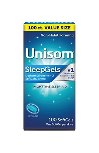 Unisom Sleep Gels, Nighttime Sleep-aid, Diphenhydramine HCI