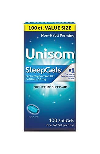 Unisom Nighttime Sleep-Aid Gels, Diphenhydramine...