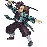 GSDGSD Figura de Anime Devil'S Blade Tanjirou Nezuko Demon Slayer PVC Mochila de acción Figura de colección Modelo Juguetes muñecas decoración