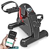 Sportstech Mini-Heimtrainer, Mini-Bike + Fitness-App  Beintrainer + Armtrainer für Senioren  ...