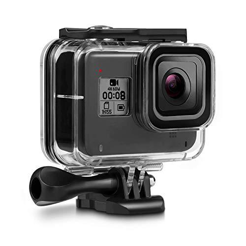 Deyard 60M Custodia Impermeabile per GoPro Hero 8 Black Custodia Protettiva Subacquea Impermeabile Custodia Protettiva per GoPro Hero 8 Black Action Camera