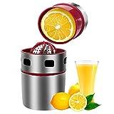 Extracteur de jus manuel Oranges à la main Fruit Juicer Manual Juicer Stainless Steel Manual Squeezer