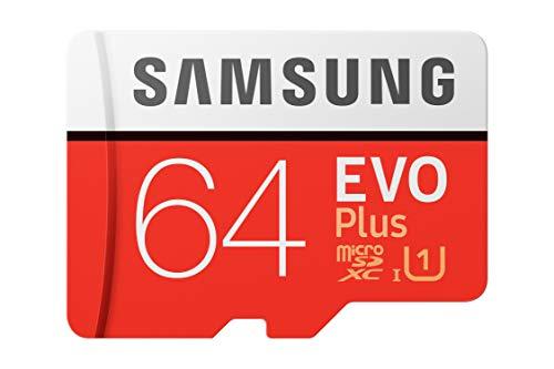 Samsung EVO Plus 64GB microSDXC UHS-I 100MB/s Full HD & 4K UHD Memory...