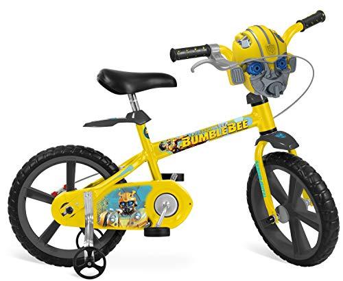 Bicicleta Aro Transformers Bandeirante Amarelo 14'
