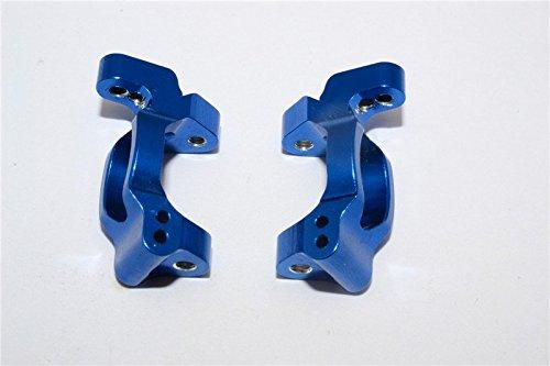 GPM Traxxas LaTrax Rally / SST / Teton Upgrade Parts Aluminum C-Hub - 1Pr Blue