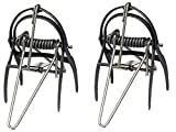 Victor 0631 Out O'Sight Mole Trap, Weather-Resistant, Durable and Strong Malleable Iron Jaws, Non-Toxic, No Bait, Kept Completely Underground In Sandy and Other Soil Types (Pack of 2)