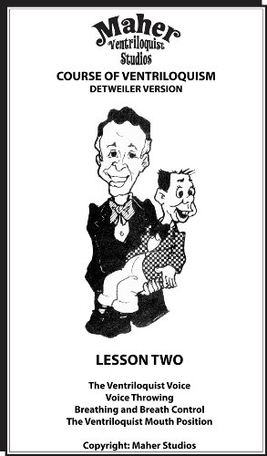 Amazon.com: Maher Course Of Ventriloquism - Lesson Two: Detweiler ...
