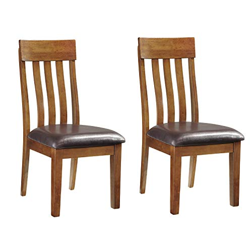 Signature Design by Ashley Ralene Dining Room Chair, Medium Brown