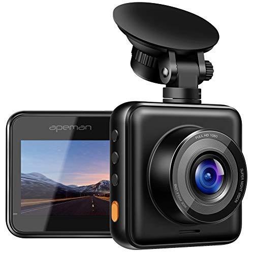 APEMAN Mini Auto Dashcam 1080P FHD Autokamera DVR 170 ° Weitwinkel Advanced Sensor Bewegungserkennung Wide Dynamic Range G-Sensor Schutz Loop-Aufnahme