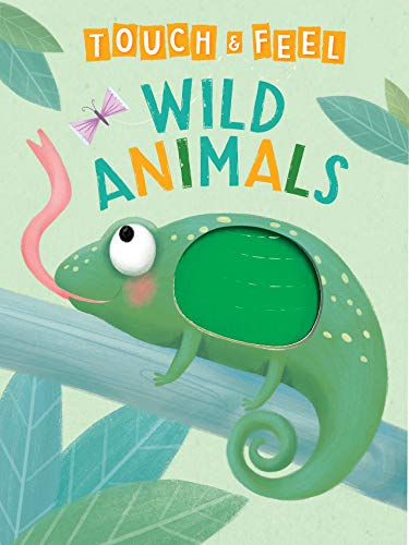 Wild Animals: A Touch and Feel Book - Children's Board Book...