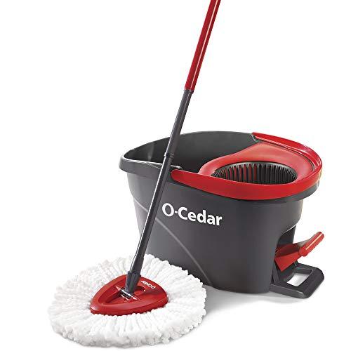 O-Cedar EasyWring Microfiber Spin Mop,...