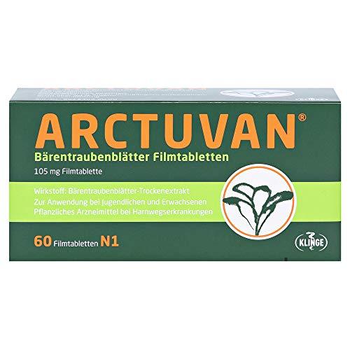 ARCTUVAN Bärentraubenblätter Filmtabletten, 60 St. Tabletten