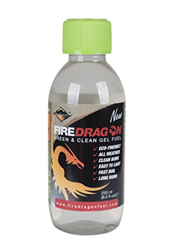 Fire Dragon Cooking Gel Fuel - Transparent, 250 ml