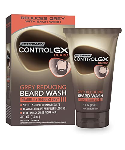 Just for men Control VVApd GX, champú reductor gris, 4 onza