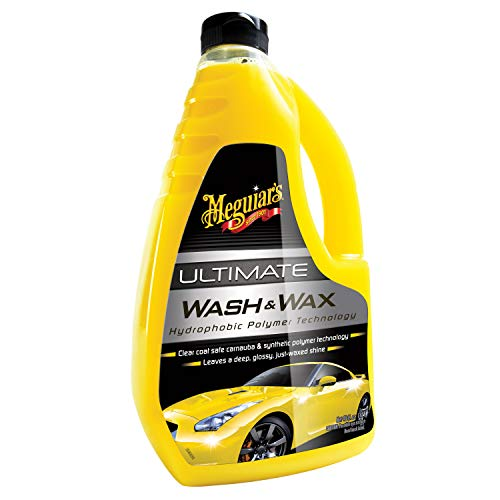 Meguiar\'s G17748EU Ultimate Wash & Wax Autoshampoo, 1420 ml