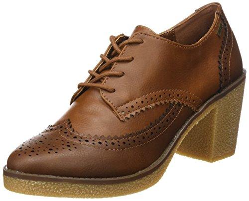 MTNG, Zapatos de tacón con Punta Cerrada Mujer, Marrón (CRAX Moka/Cuero), 36