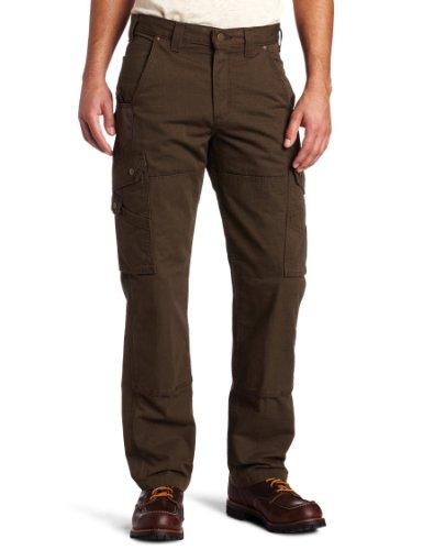 Carhartt Men's Ripstop Cargo Work Pant, Dark Coffee 28W x 30LL