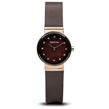 BERING Time | Women's Slim Watch 10122-265 | 22MM Case | Classic Collection | Stainless Steel Strap | Scratch-Resistant Sapphire Crystal | Minimalistic - Designed in Denmark