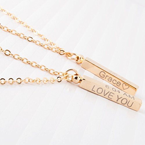 Personalized gift Baby-Children-Teen Dainty Necklace 16K...