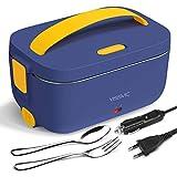 YISSVIC Boîte Chauffante 3 en 1 220V 12V 24V Lunch Box Chauffante Électrique 1,5L Boîte Repas...